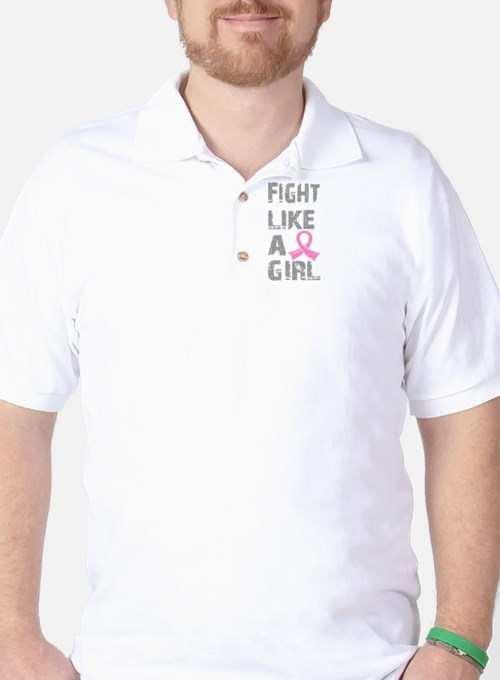 - Breast Cancer Fight Like a Girl T-Shirt
