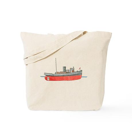 Diesel Tugboat Tote Bag