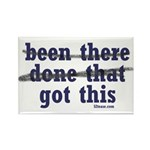Been There Done That Got This Rectangle Magnet (10