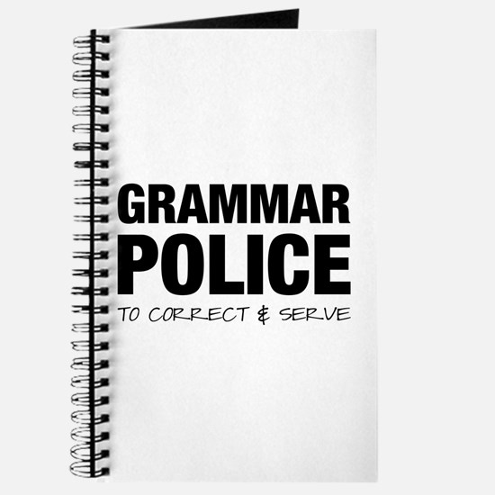 Grammar Police Journal