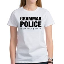 Grammar Police Tee