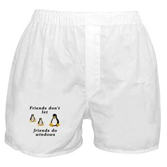 Friends don't let friends - Boxer Shorts