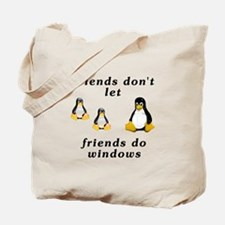 Friends don't let friends - Tote Bag