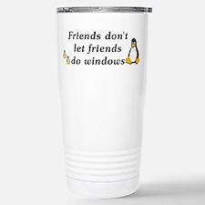 Friends don't let friends - Travel Mug
