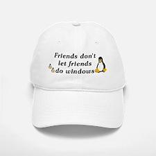 Friends don't let friends - Baseball Baseball Cap