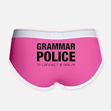 Grammar Police Women's Boy Brief