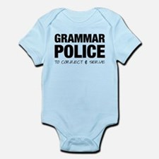 Grammar Police Infant Bodysuit