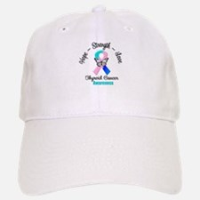 Strength Thyroid Cancer Baseball Baseball Cap