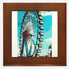 Big Ferris Wheel Framed Tile