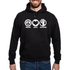 Peace Love Alpacas Hoody