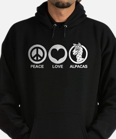 Peace Love Alpacas Hoody