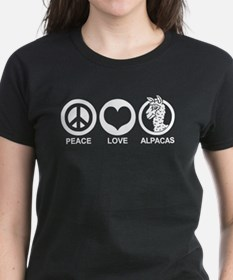 Peace Love Alpacas Tee