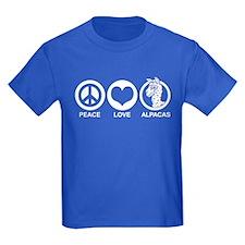Peace Love Alpacas T