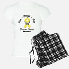 Strength Sarcoma Cancer Pajamas
