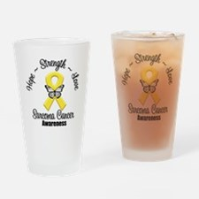 Strength Sarcoma Cancer Drinking Glass