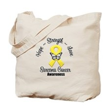 Strength Sarcoma Cancer Tote Bag