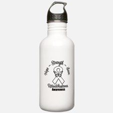Strength Retinoblastoma Water Bottle