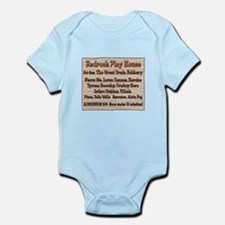 Old West Redrock Play House Infant Bodysuit