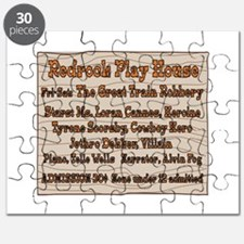 Old West Redrock Play House Puzzle