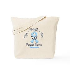 Strength Prostate Cancer Tote Bag