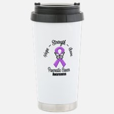 Strength Pancreatic Cancer Travel Mug