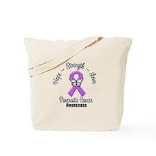Strength Pancreatic Cancer Tote Bag