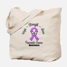 Strength Pancreatic Cancer Tote Bag