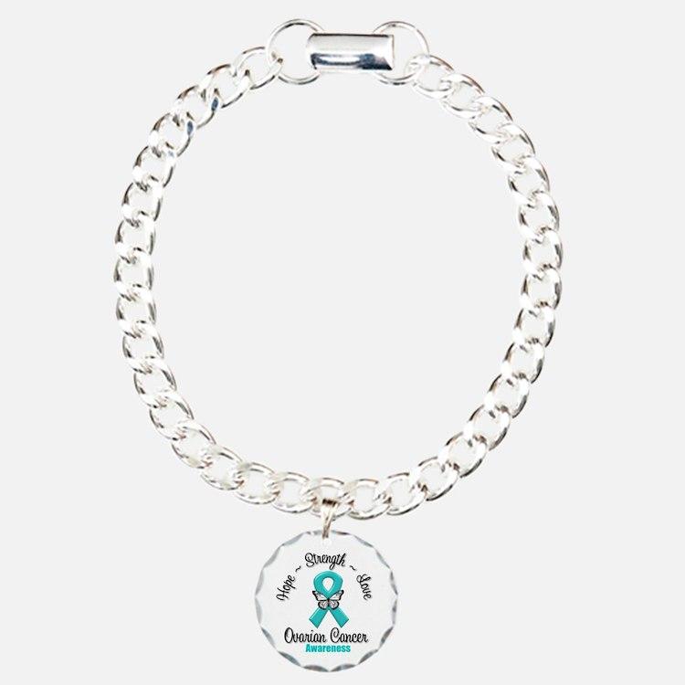 Strength Ovarian Cancer Bracelet