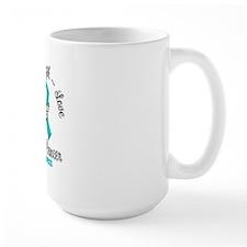 Strength Ovarian Cancer Ceramic Mugs