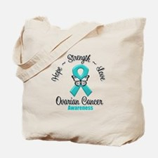 Strength Ovarian Cancer Tote Bag