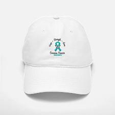 Strength Ovarian Cancer Baseball Baseball Cap