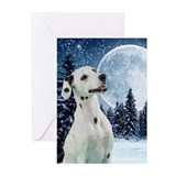 Dalmatian christmas Greeting Cards (10 Pack)