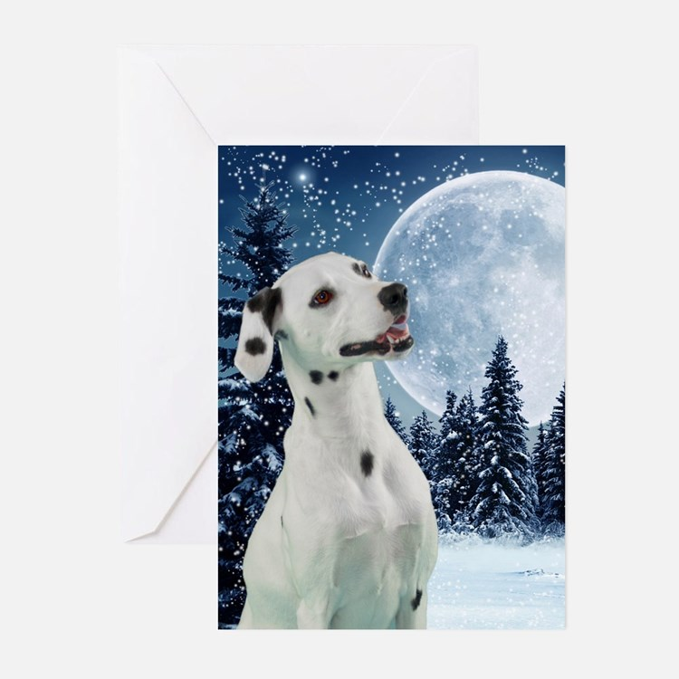 Dalmatian Christmas Cards (Pk of 10)