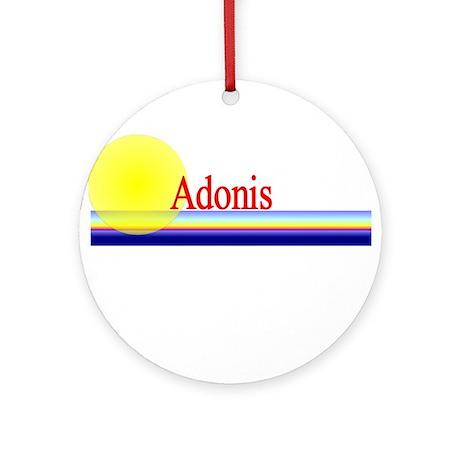 Adonis Ornament (Round)