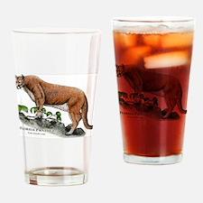 Florida Panther Drinking Glass