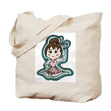 Little Anime Ballerina Tote Bag