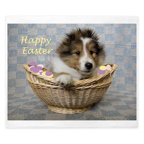 Easter Basket King Duvet