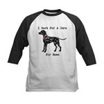 Dalmatian Personalizable I Bark For A Cure Kids Ba