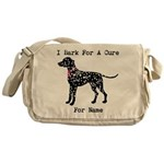 Dalmatian Personalizable I Bark For A Cure Messeng