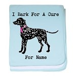Dalmatian Personalizable I Bark For A Cure baby bl