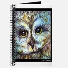 Owl, wildlife art, Journal