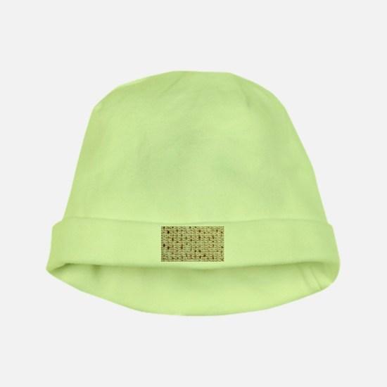 Matzo Mart Baby Hat (green)
