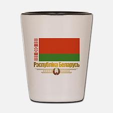 """Belarus Flag"" Shot Glass"