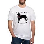 Saint Bernard Personalizable I Bark For A Cure Fit