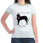 Saint Bernard Personalizable I Bark For A Cure Jr.