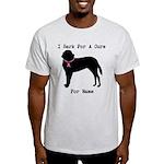 Saint Bernard Personalizable I Bark For A Cure Lig