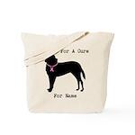 Saint Bernard Personalizable I Bark For A Cure Tot