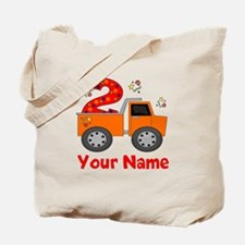 2nd Birthday Dump Truck Tote Bag