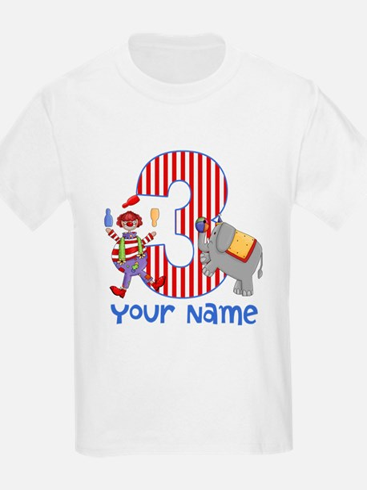 3rd Birthday Circus T-Shirt