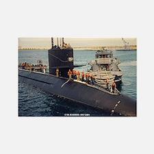 USS BARBEL Rectangle Magnet